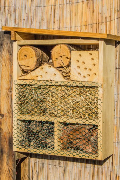 dreveny domcek pre hmyz