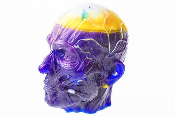 hlava frankenstein dekoracia