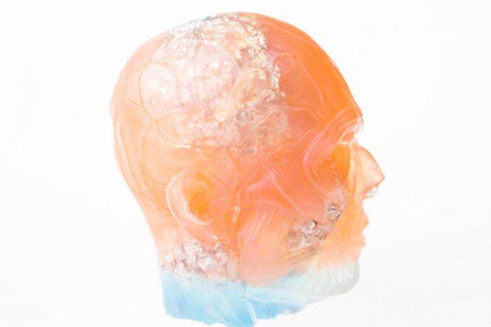 hlava prometeus dekoracia
